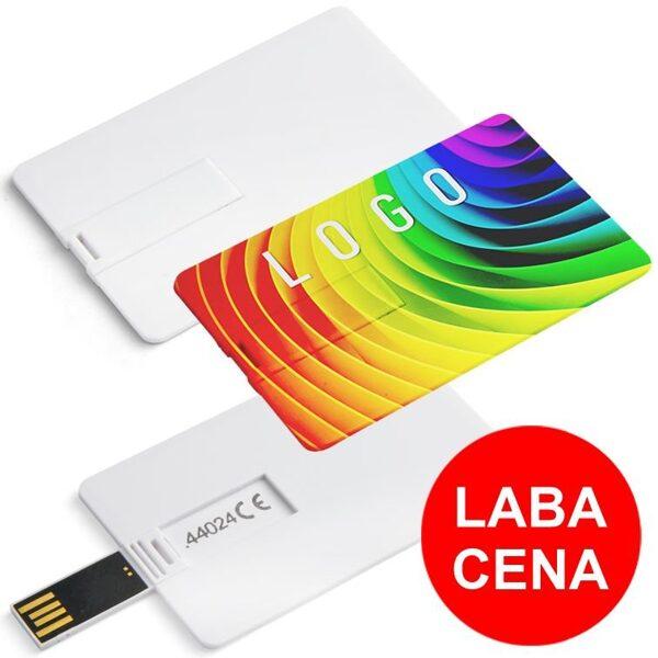 USB flash drive (zibatmiņa) kredītkartes formā AS4402k